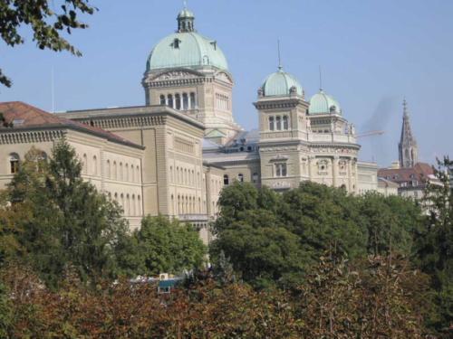Bundeshaus (Palazzo federale) - Berna