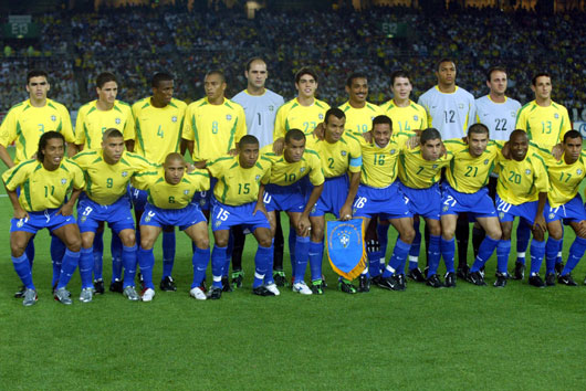 Brasile - Campione del Mondo 2002
