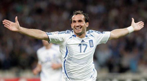 L'attaccante greco Theofanis Gekas