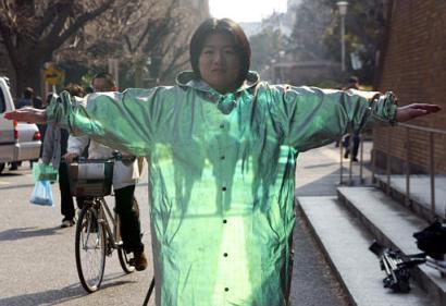 Susumu Tachi: mantello invisibile