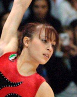 Vanessa Ferrari, campionessa mondiale nel 2006