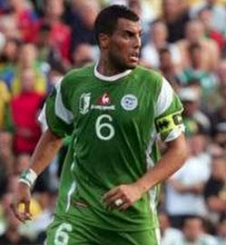 Yazid Mansouri, giocatore Algeria