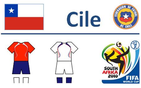 Squadra Cile Mondiali Sudafrica 2010