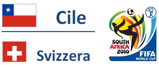 Cile - Svizzera Mondiali Sudafrica 2010