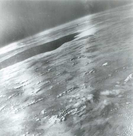 foto della terra dal missile V-2 #21