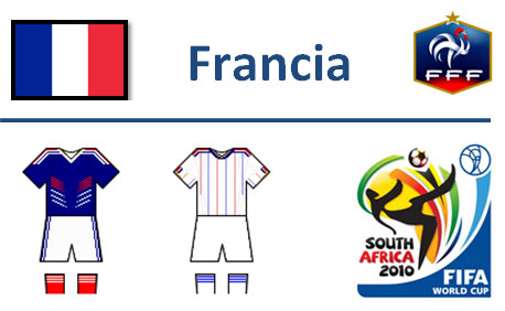 Francia Mondiali Sudafrica 2010