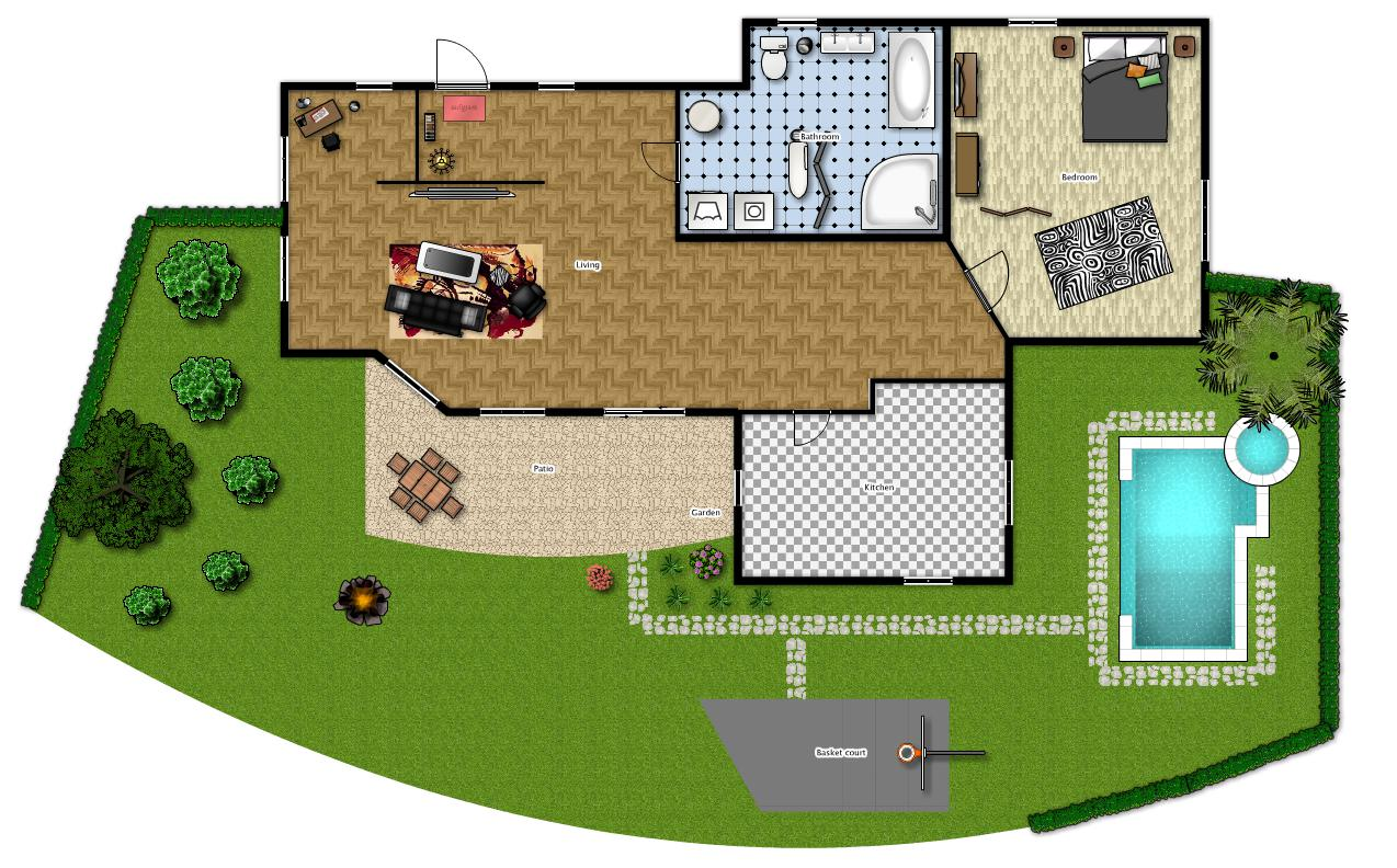 piantina casa moderna idee per interni e mobili