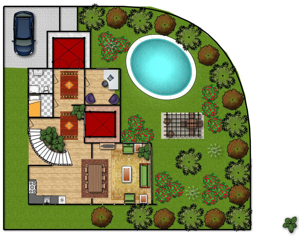 Gallery of with progetto casa gratis for Disegnare piantina casa online gratis