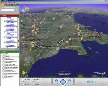google earth nel browser