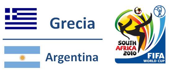 Grecia - Argentina Mondiali Sudafrica 2010