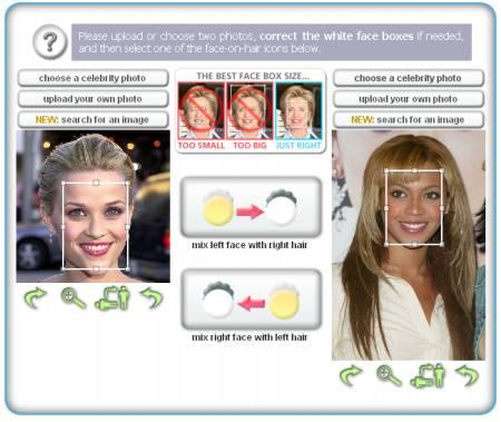 hairmixer: software per provare pettinature