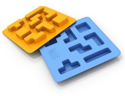 ghiaccio a forma di tetris