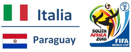 Italia - ParaguayMondiali Sudafrica 2010