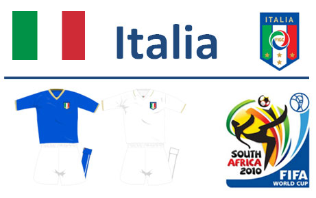 Squadra Italia Mondiali Sudafrica 2010