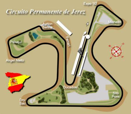 Moto GP Spagna circuito Jerez de la Frontera