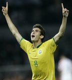 il giocatore del brasile Kakà