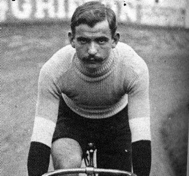Luigi Ganna, vincitore del primo Girod'Italia nel 1909