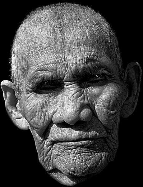 fotografie di uomini centenari