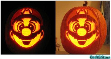 zucca Halloween super mario