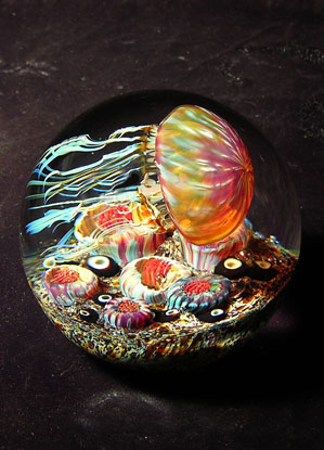 Medusa in vetro