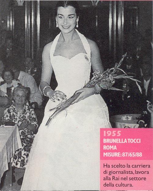 Miss Italia 1955 - Brunella Tocci