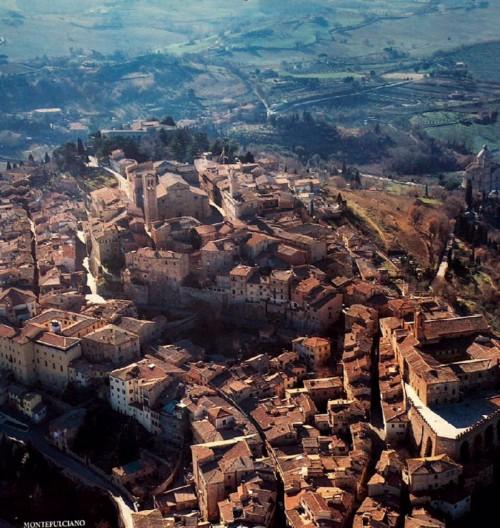 Montepulciano, panorama