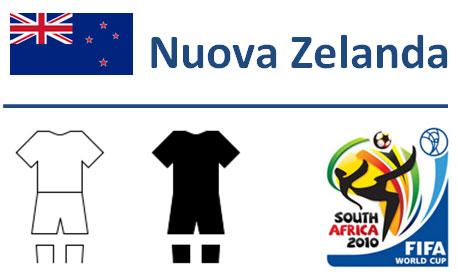 Squadra Nuova Zelanda Mondiali Sudafrica 2010
