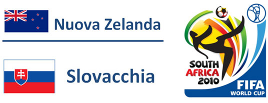 Nuova Zelanda Mondiali Sudafrica 2010