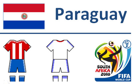 Squadra Paraguay Mondiali Sudafrica 2010