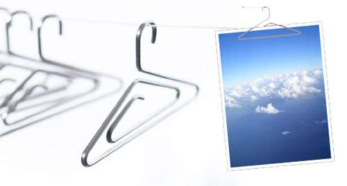 clip metallica porta foto