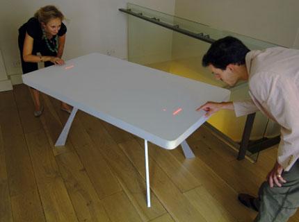 tavolo ping pong a led