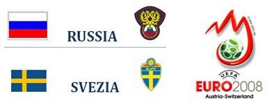 Russia-Svezia Europei 2008