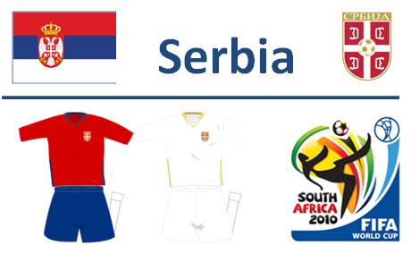 Squadra Serbia Mondiali Sudafrica 2010