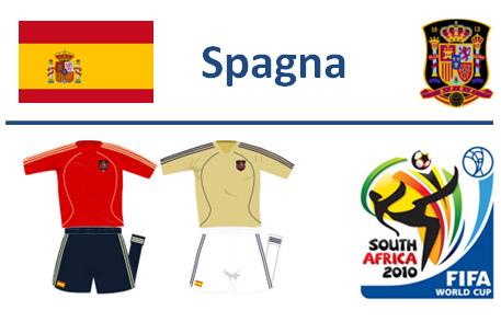 Spagna Mondiali Sudafrica 2010