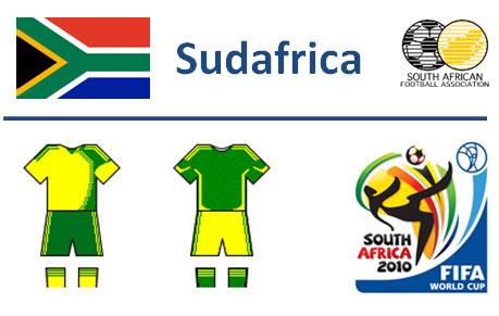 Squadra Sudafrica Mondiali Sudafrica 2010