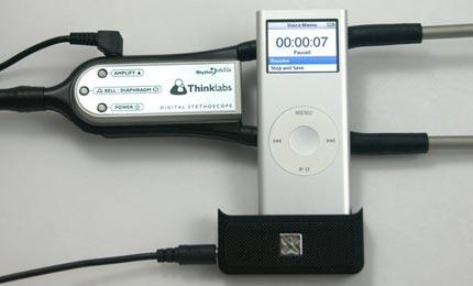 stetoscopio ipod