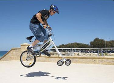 Street Surfer bicicletta 5 ruote