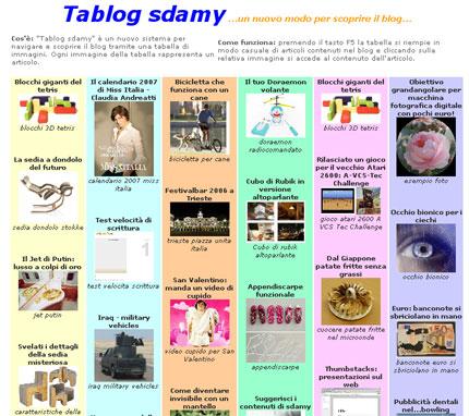 tablog sdamy