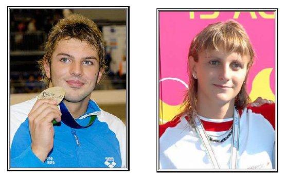 Alessandro TERRIN e Roberta PANARA ai Mondiali di Nuoto nei 50m Rana