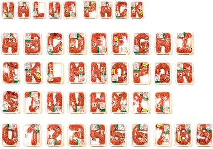 alfabeto macinato