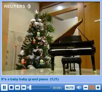video pianoforte miniatura