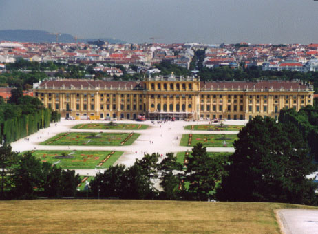 Vienna, Castello di Schà¶nbrunn