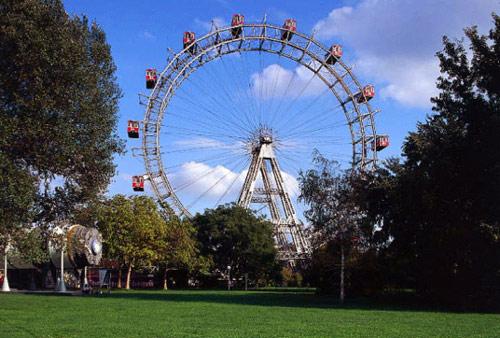 Vienna, La ruota panoramica nel Prater