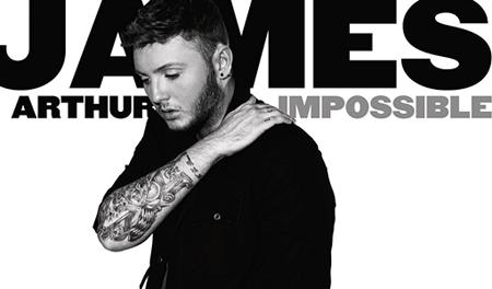 La copertina di Impossible di James Arthur