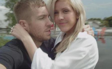 "Calvin Harris e Ellie Goulding nel video di ""I Need Your Love"""