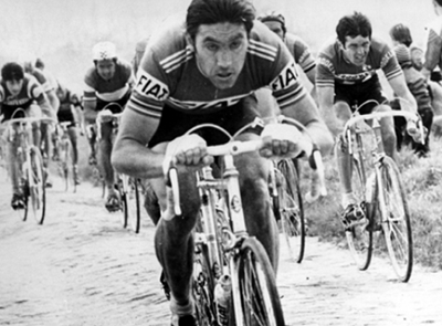 Eddy Merckx sullo Jafferau al Giro '72
