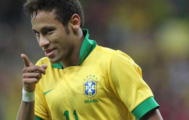Neymar, giocatore del Brasile