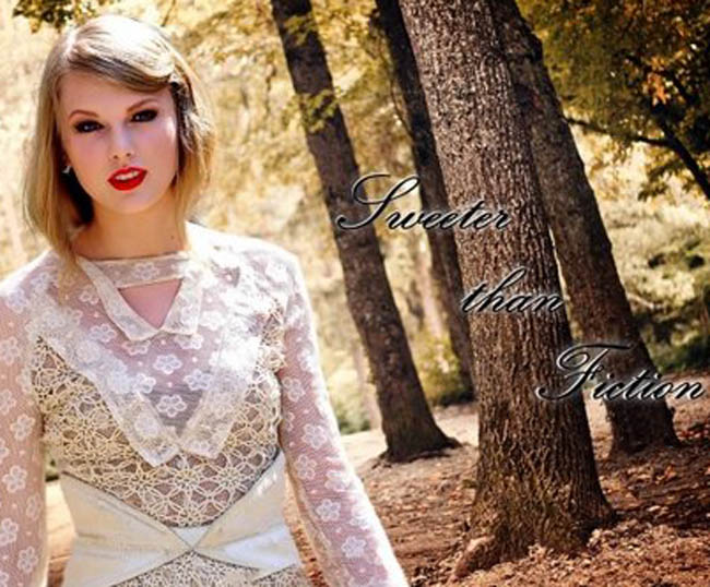 "La copertina di ""Sweeter than Fiction"""