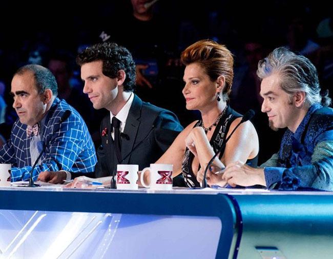 I 4 giudici di X Factor 7