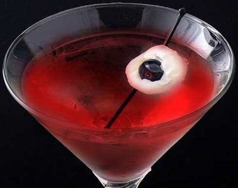 bulbi oculari cocktail halloween